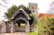 Watlington, The lych gate and St Leonard's church, Oxfordshire © Steve Daniels
